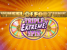 Азартный автомат Wheel Of Fortune: Triple Extreme Spin в Вулкан